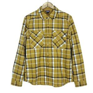 Patagonia Plaid Button Up Recycled Wool Shirt